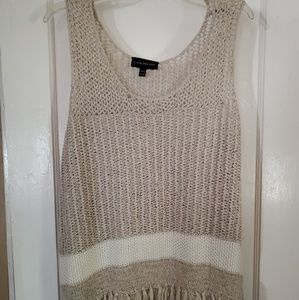 Lane Bryant Womans 18/20 Tan Pullover Sweater Tank